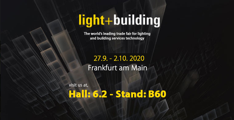 Light & Building 2020 fuarındayız!